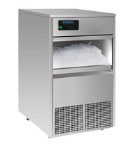 Polar G-serie RVS  ijsblokjesmachine | 50kg output | Met interne afvoerpomp  | 230V | 498x604x831(h)mm