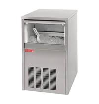 Gastro M Ijsblokjesmachine RVS | 28kg output | Met voorraad container | 230V | 400x460x670(h)mm