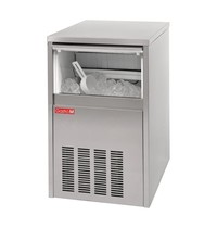Gastro M Ijsblokjesmachine RVS    40kg/24h   Luchtgekoeld   230V   480x580x750(h)mm