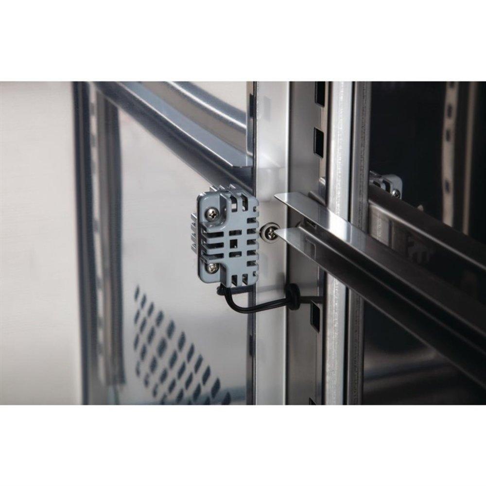 U serie RVS koelwerkbank 3-deurs op wielen | 339L | Met 3 verstelbare schappen | 1795x600x860(h)mm