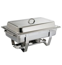 Olympia Milan chafing dish set | GN 1/1 | 332x590x270(h)mm