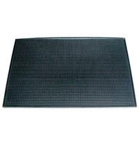 Olympia Barmat zwart rubber  | Antislip |  44,5x30cm