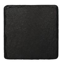 Olympia Leistenen serveerschaaltjes vierkant | 4 stuks | 13(b) x 13(d)cm