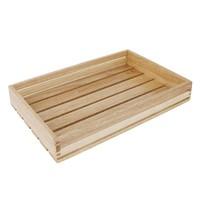 Olympia Lage houten serveerkrat | 350x230x50(h)mm