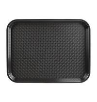 Kristallon Dienblad plastic zwart | 305x415mm