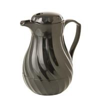 Kinox Koffie isloleerkan zwart | 0,6L | Incl 3 kleurcoderings clips