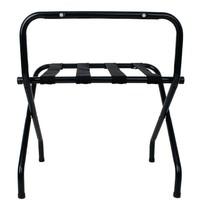 Bolero Zwarte kofferstandaard | Opvouwbaar | 500x620x650(h)mm