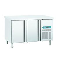 TopCold Vrieswerkbank Snack Line 255L | Geventileerd | 2 deurs | 1492x600x850(h)mm
