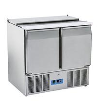 Mastro Saladette 230L | 2 deurs | +0/+8 graden |  6x 1/3 & 2x 1/4 GN | 230V | 900x700x880(h)mm