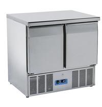 Mastro Koelwerkbank 215L | 2 deurs | 1/1 GN | 0/+8 graden | 230V | 900x700x880(h)mm