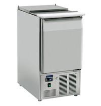 Mastro Saladette RVS 110L | 1 deur | 3x 1/1 GN | 0/+8 graden | 450x700x883(h)mm