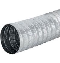Econox Aludec flexible ventilatieslangen 5 meter ongeisoleerd