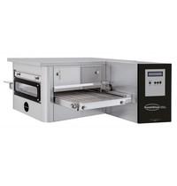 CombiSteel Lopende band oven 400 | 25cm-30pcs/H - 32cm-15pcs/H - 40cm-13pcs/H | 985x450x400(h)mm
