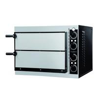 CombiSteel Pizza oven | 1+1 32Øcm  | 2,4 kW | 568x500x430(h)mm