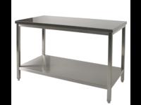 RVS Werktafels + Bodemschap