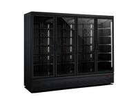 Horeca koelkasten 4 glazen deuren