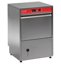 Gastro M Glazenspoelmachine voorlader RVS | 400x400mm mand | 480x520x700(h)mm