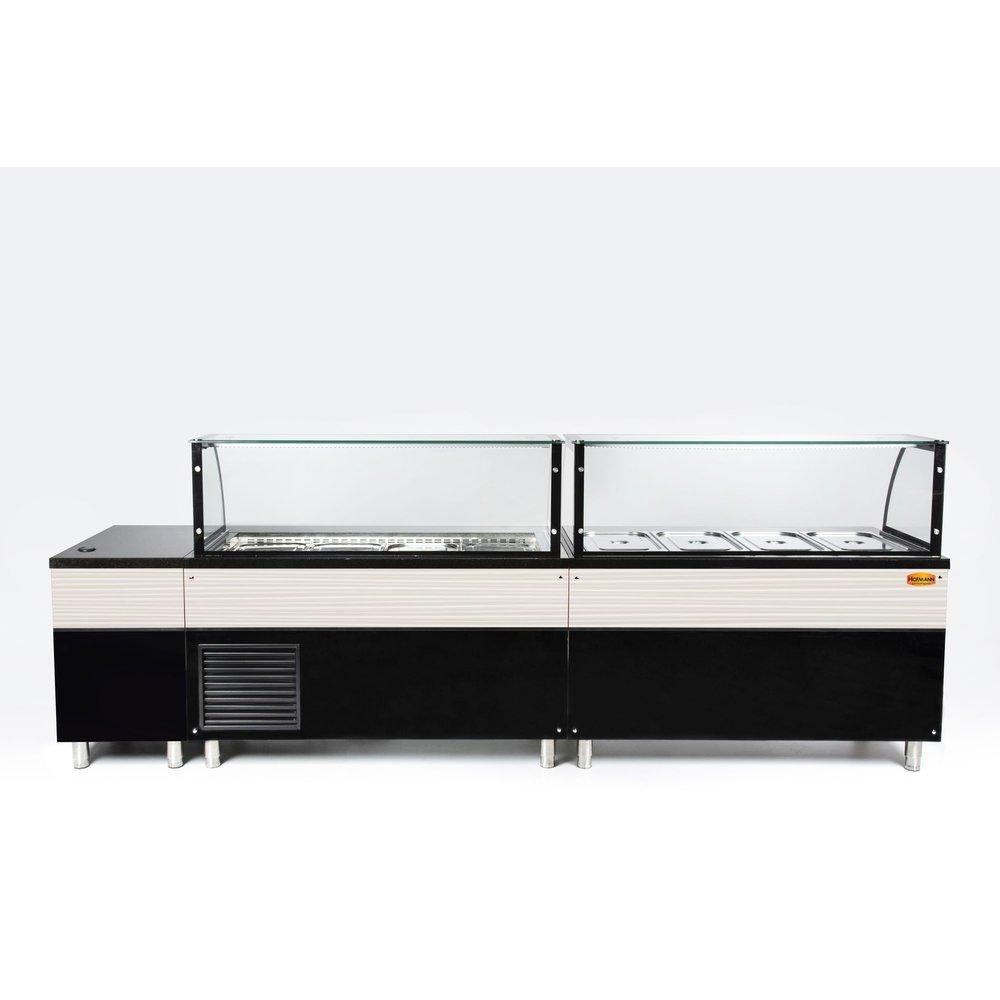 Saladette werkbank | met luchtcirculatie |  3x 1/1 GN | 1120x850x1300(h)mm