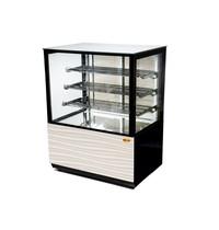 MG Hofmann Warmhoud vitrine | met circulerende lucht | +0/+90 °C | 1000x750x1300(h)mm