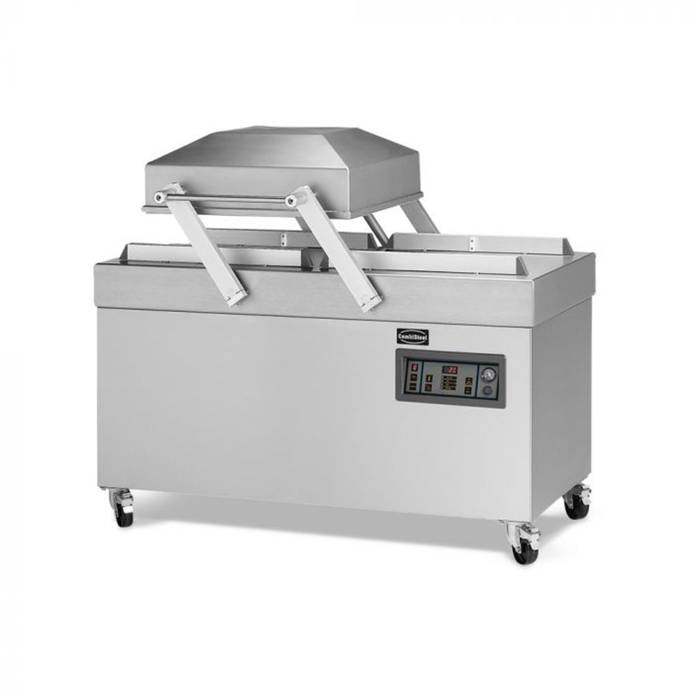 Vacuummachine Prima 240   3,3-4,5 kW/h   Cyclustijd sec. 15-40   1545x790x1090(h)mm