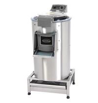 CombiSteel Aardappelschrapmachine met filter 35 kg | Cap.eenh./uur 700 kg | 1,5kW/h | 570x830x1320(h)mm