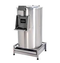 Combisteel Aardappelschrapmachine met filter 50 kg | Cap.eenh./uur 1000 kg | 2,2kW/h | 670x840x1150(h)mm