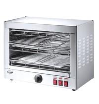 CombiSteel Salamander Toaster | 2 etages | 3,6kW/h | 490x250x380(h)mm