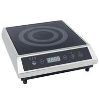 Combisteel Inductie kookplaat   2,7kW/h   Touch screen bediening   300x370x100(h)mm