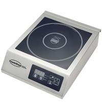 CombiSteel Inductie kookplaat | 0,5-3,5 kW/h | 120/280 Ømm plaat + digitale bediening | 340x440x117(h)mm |