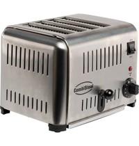 CombiSteel Broodrooster RVS   Voor 4 sneden   1,8kW/h   290x260x220(h)mm