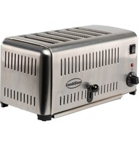 CombiSteel Broodrooste RVS   Voor 6 sneden   2,5kW/h   420x260x220(h)mm