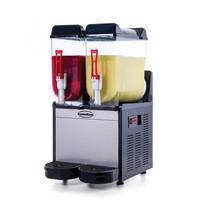 CombiSteel Slush machine RVS | 12+12 liter | 230V | 390x530x780(h)mm