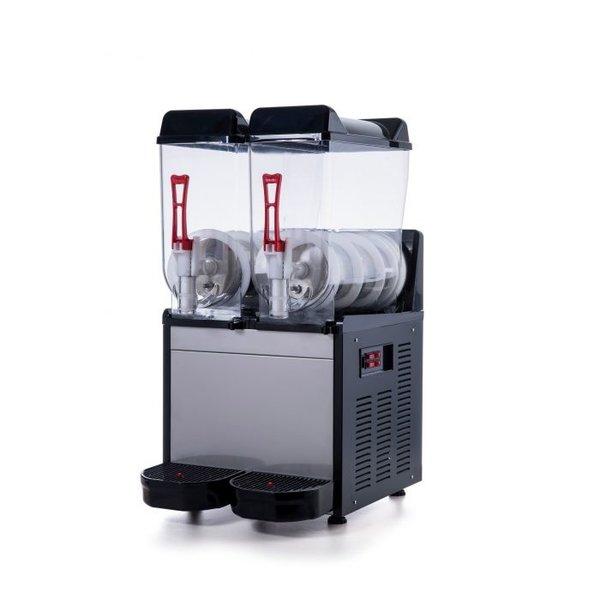 Slush machine RVS   12+12 liter   230V   390x530x780(h)mm