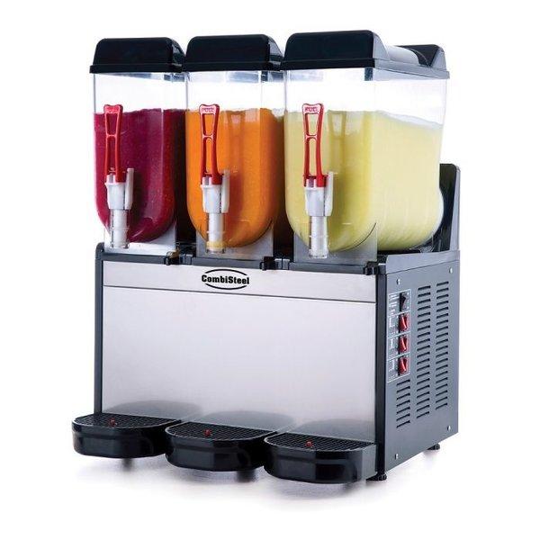 Slush machine RVS | 12+12+12 liter | 230V | 590x530x780(h)mm