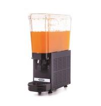 Combisteel Dranken dispenser zwart | 20 liter | TBV heldere dranken | 230V | 185x520x665(h)mm