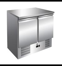 Gastro-Inox Koelwerkbank RVS |  257L | Geforceerd | 900x700x860(h0mm
