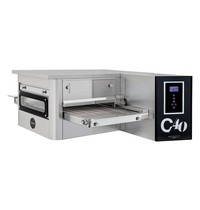 Prismafood Tunnel oven elektrisch C40 | 43 pizza's/h |  40cm Band | 7,8kW/h | 1425x985x450(h)mm