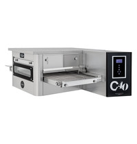 Prismafood Tunnel oven gas C40 | 43 pizza's/h | 10,4Kw/h | 40cm band | 1425x1015x450(h)mm