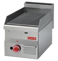 Gastro M Bakplaat/Grillplaat gas  60/30 FTG RVS | 5,2kW/h | 300x600x280(h)mm