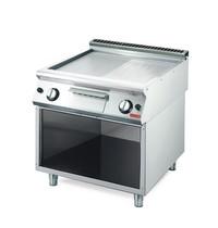 Gastro M Bakplaat/Grillplaat gas GM70/80 FTRG RVS | 12kW/h | 800x700x850(h)mm