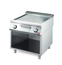 Gastro M Bakplaat/Grillplaat  elektrisch 70/80 FTES | 10,8kW/h | 800x700x850(h)mm