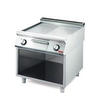 Gastro M Bakplaat/Grillplaat  elektrisch 70/80 FTRES-CR Chroom | 10,8kW/h | 800x700x850(h)mm