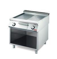 Gastro M Bakplaat/Grillplaat elektrisch 70/80 FTRES RVS | 10,8kW/h | 800x700x850(h)mm