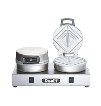 DUALIT Broodrooster dubbel 73002   60 sandwiches/h   230V   400x220x190(h)mm