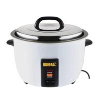 Buffalo Rijstkoker RVS elektrisch  | 1,6kW/h | 10L gekookte rijst / 4,2 droge lijst | 380x320x350(h)mm