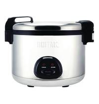 Buffalo Rijstkoker RVS | 2,85kW/h | 20L gekookte rijst / 9L droge rijst | 480x560x415(h)mm