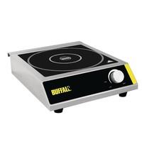 Buffalo Inductie kookplaat | 3kW/h | Met pan detectie | 330x430x100(h)mm