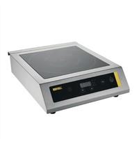 Buffalo Inductie kookplaat zwaar gebruik   3kW/h   Met pan detectie   390x490x120(h)mm