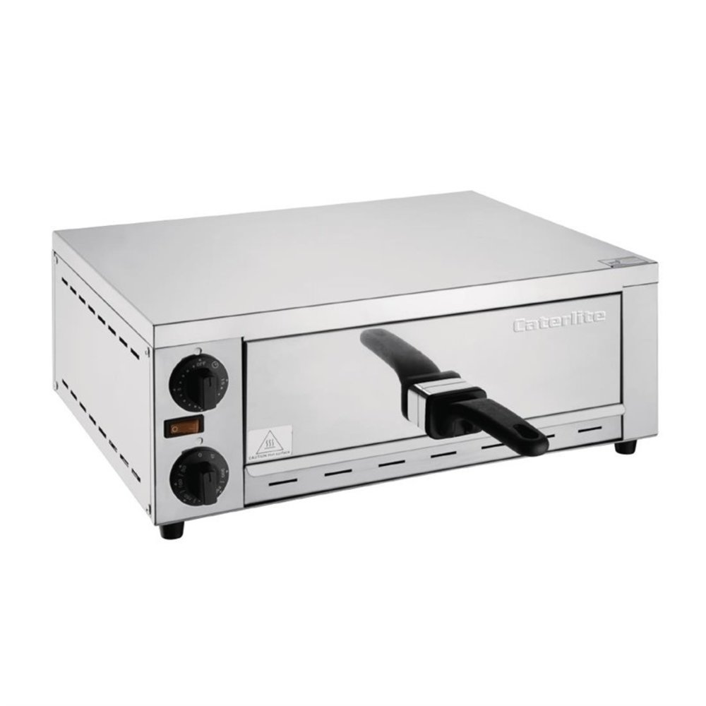 Pizza oven elektrisch | 1x Ø30,5cm | 1,13W/h | 380x468x188(h)mm