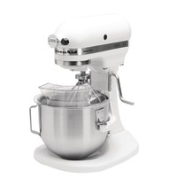 KitchenAid Planetaire mixer wit 4,8L | 315W | Met vaste kom | 264x338x411(h)mm